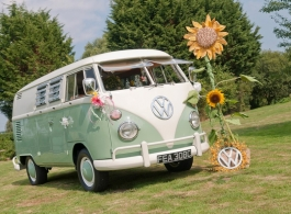 1960s Splitscreen Campervan For Weddings In Portsmouth